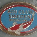 New Swedish Koi Club pin