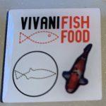 Vivani fish food white