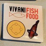 Vivani fish food yellow