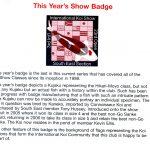 South East Showprogram 2009