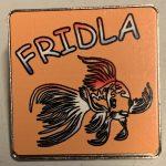 The Official FRIDLA pin, the First Royal International Dutch Longfin Association