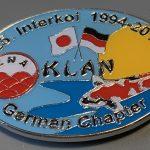 KLAN 25th Interkoi Silver background
