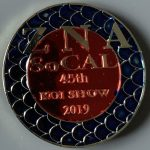 45rd Annual Koi Show 2019 Gold background