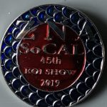 45rd Annual Koi Show 2019 Silver background