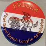 The FRIDLA button, the First Royal Dutch Longfin Association button