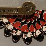 Louis Vanreusel memorial pin , a Fan of Colors